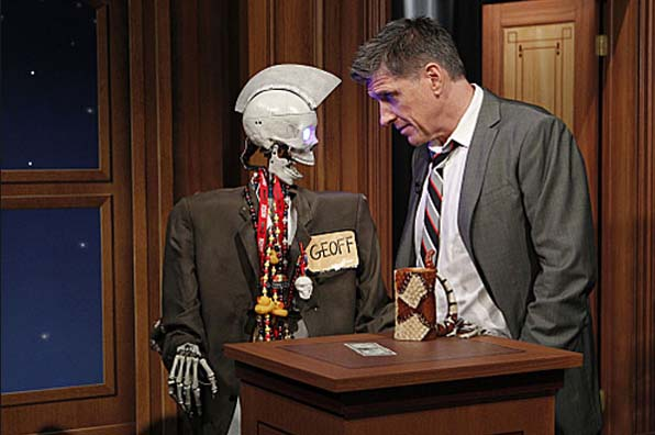 Geoff Peterson, The Robot Skeleton