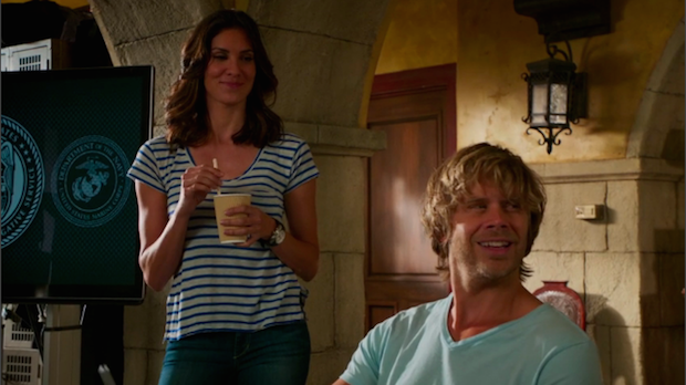 When Deeks mentioned