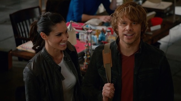 When Kensi and Deeks moved in together.