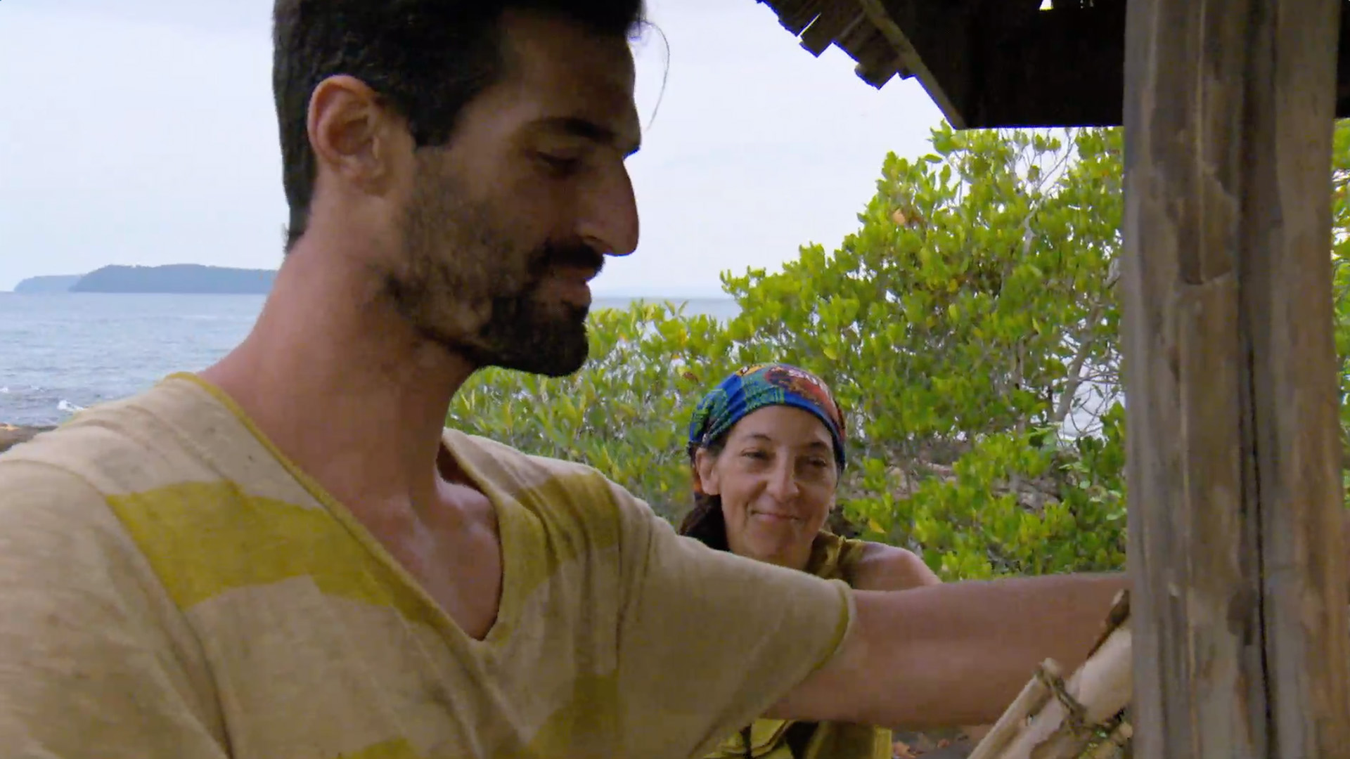 2. Debbie crushes on Nick.