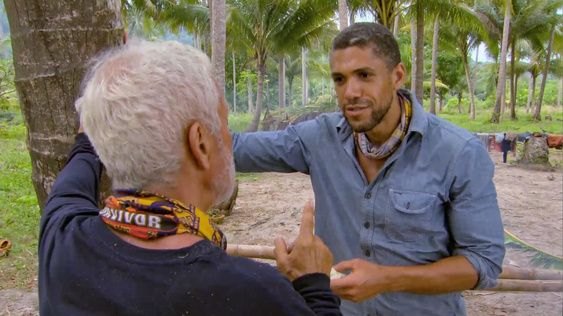 5. Joe puts Peter on the spot.