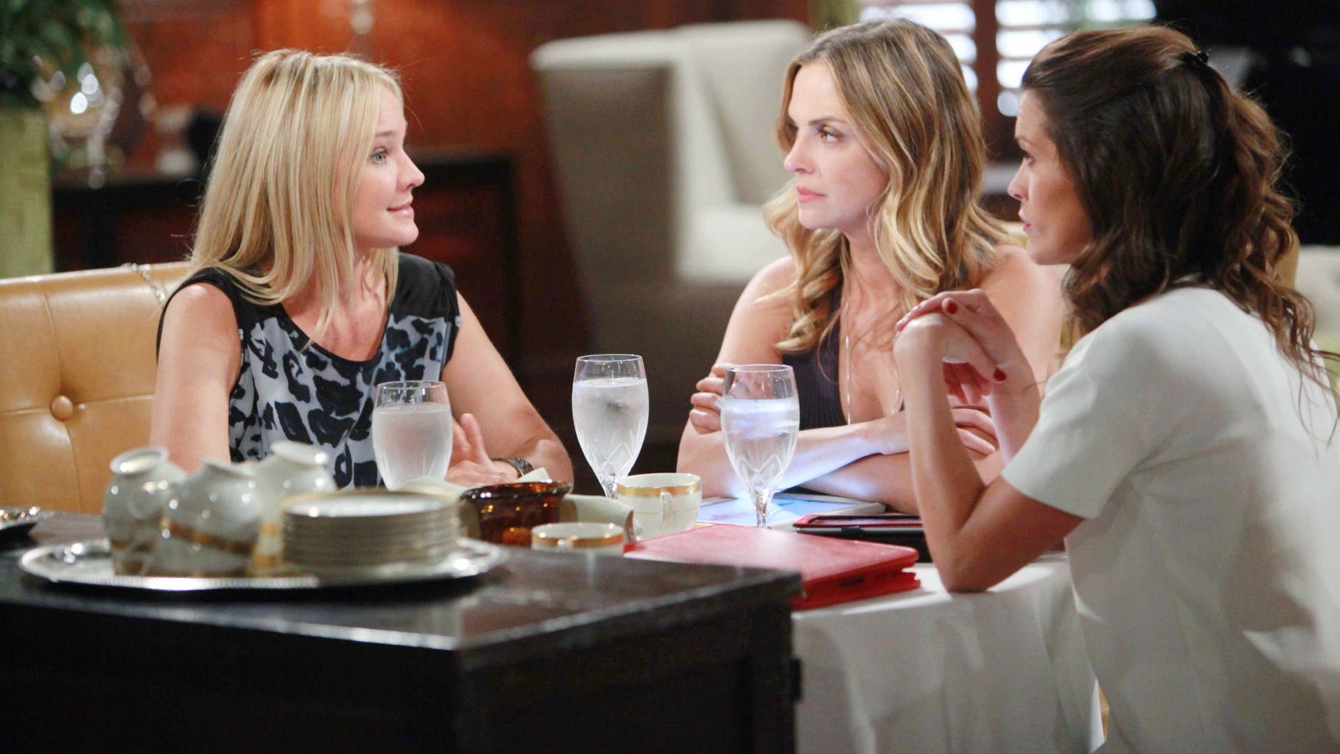 Sharon, Sage, and Chelsea get real with each other.