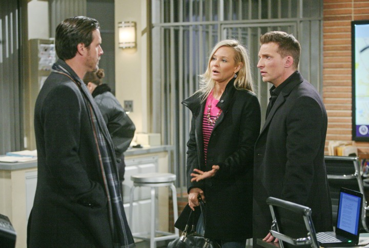 Sharon reacts to the news of Sage's arrest.