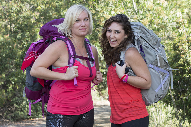 Kelly and Shevonne (#TeamTMZ) keep it real in The Amazing Race premiere.