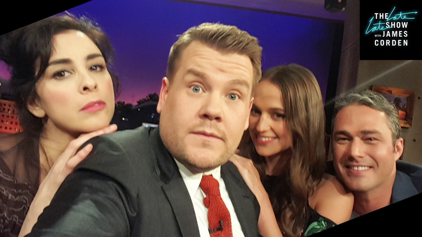 Sarah Silverman, Alicia Vikander, and Tayler Kinney