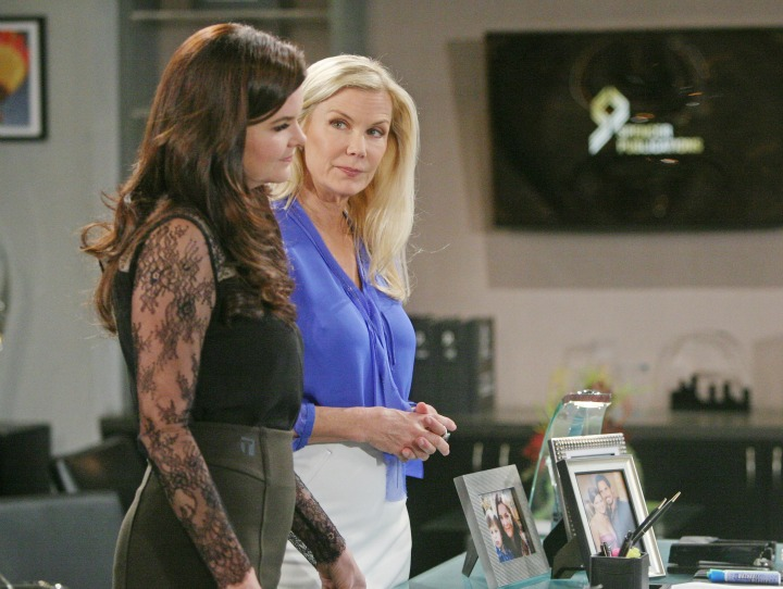 In an attempt to suppress their feelings, Bill and Brooke attempt to keep their distance from each other while working under the same roof.