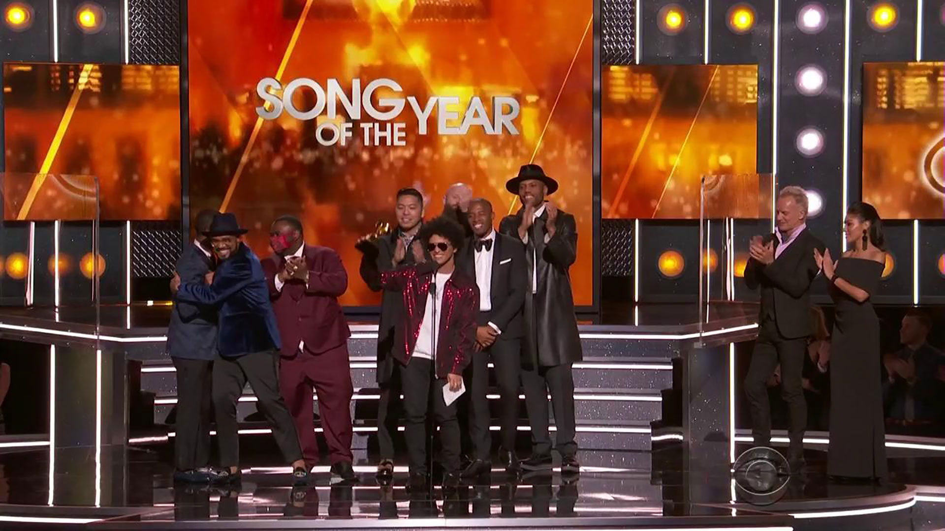 Bruno Mars wins Song Of The Year for