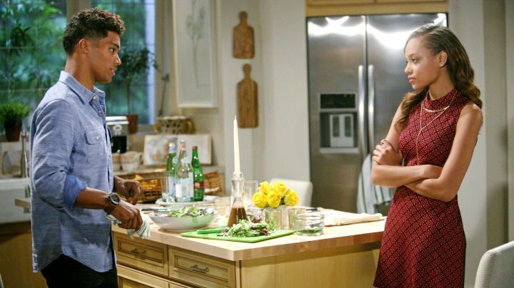 Nicole confides in Zende about what Rick and Maya have asked her to do for them.
