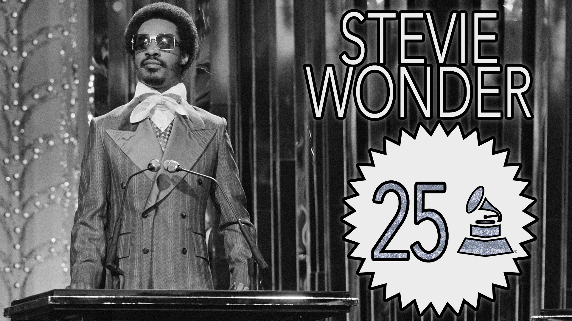 Stevie Wonder with 25 GRAMMY Awards