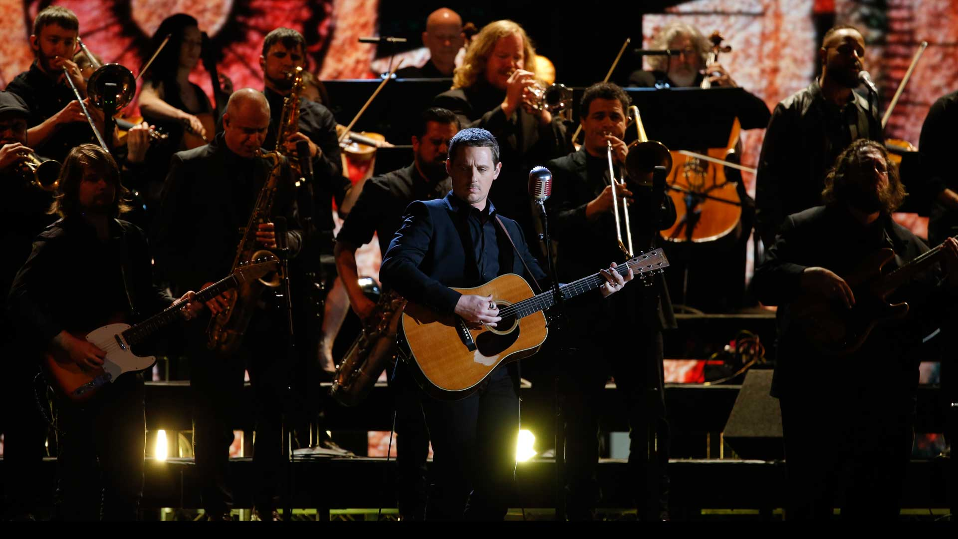 Sturgill Simpson and The Dap-Kings perform
