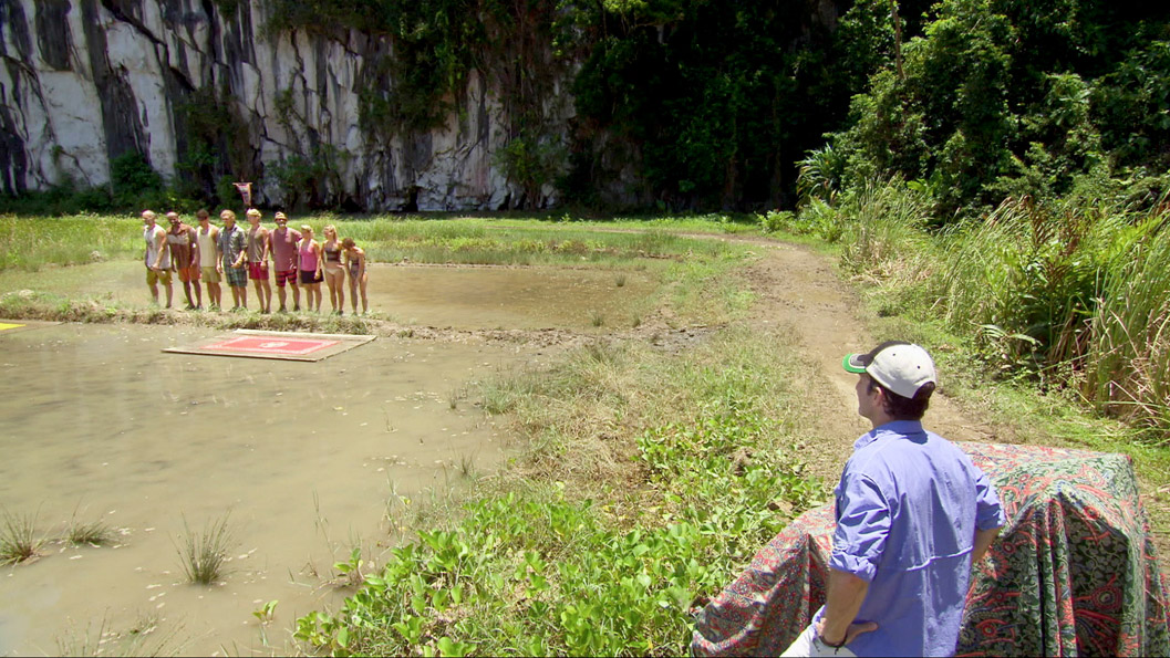 The Survivors and Jeff Probst
