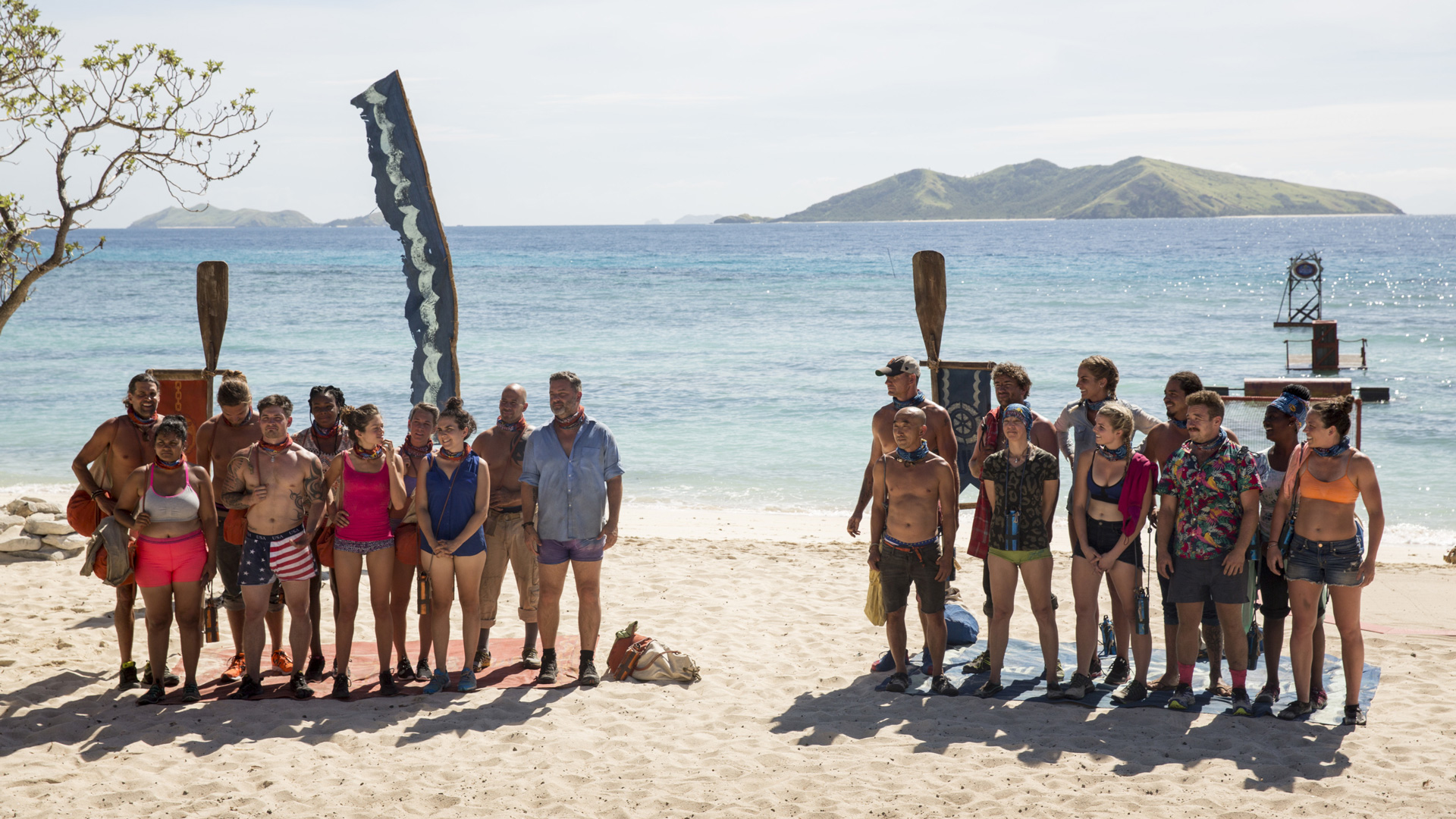 Which castaways make the boldest first impression and who will be the first one snuffed?