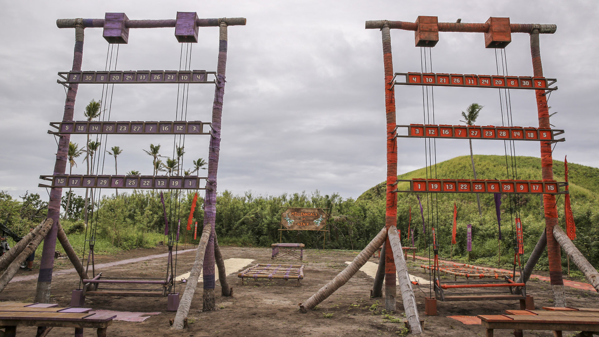 The castaways will have to aim high if they want to win Immunity this week.