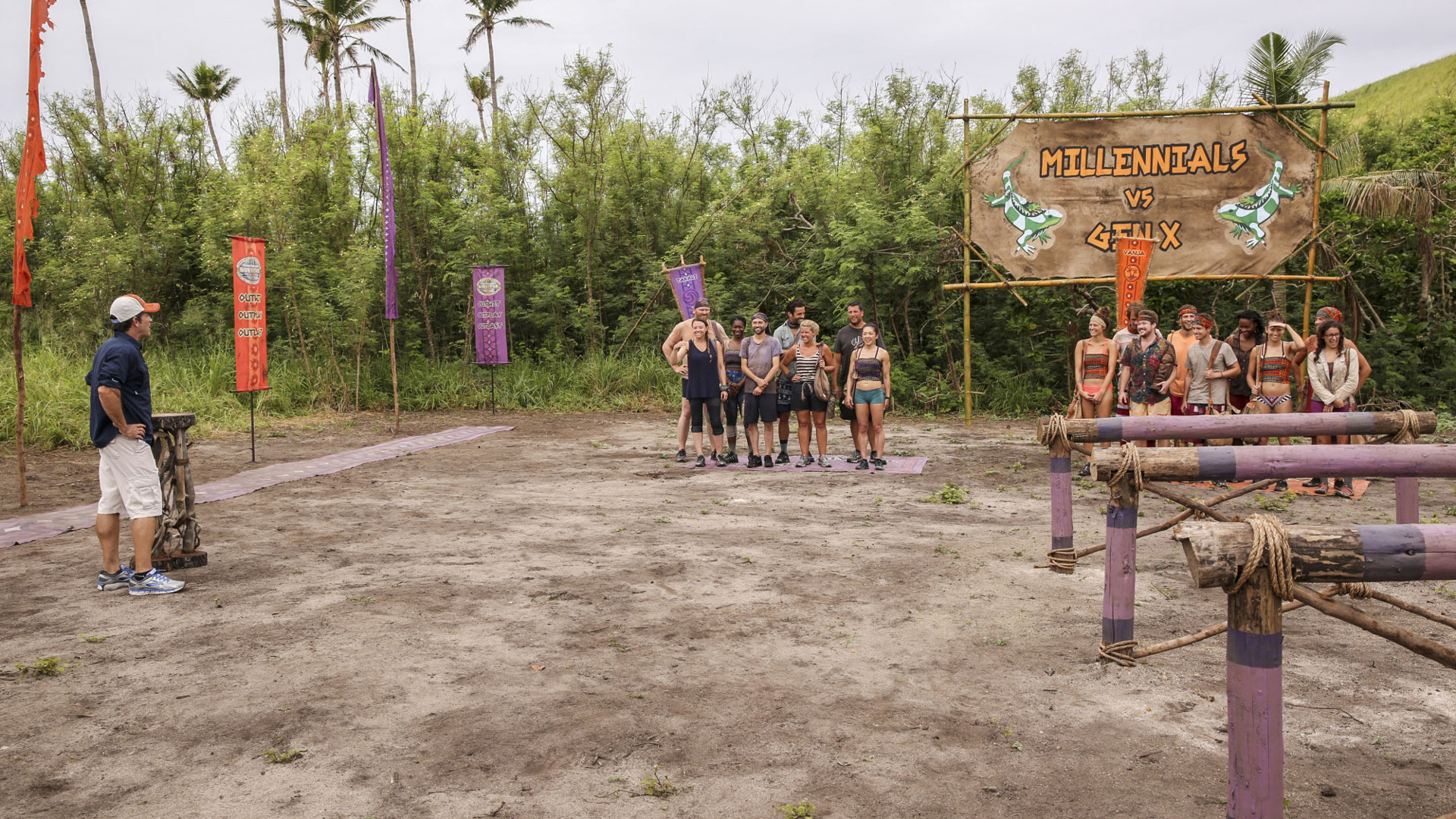 The Gen X-ers and Millennials get pumped for their next Immunity Challenge.