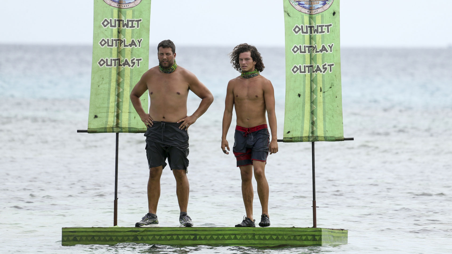 Bret and Jay are ready to jump in and fight for Immunity.