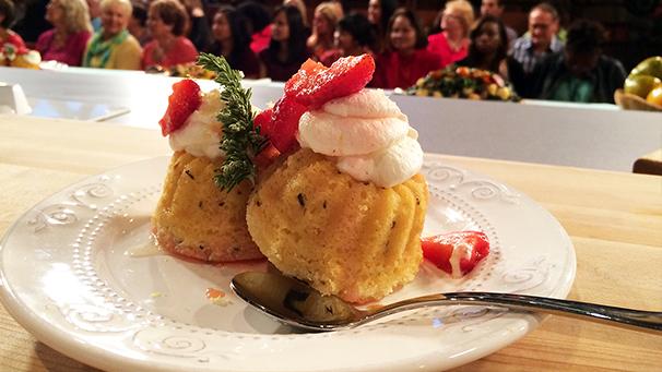 Susan Feniger's Lemon Rosemary Cake