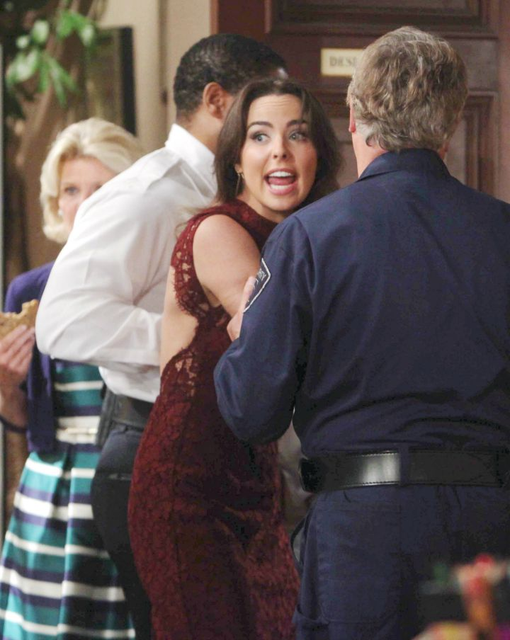 Steffy fires Ivy and has her escorted off the premises.