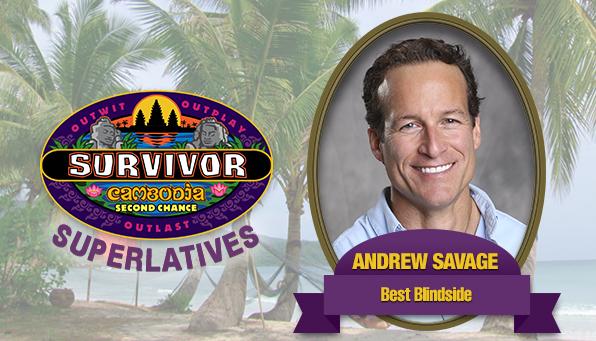 Andrew Savage - Best Blindside
