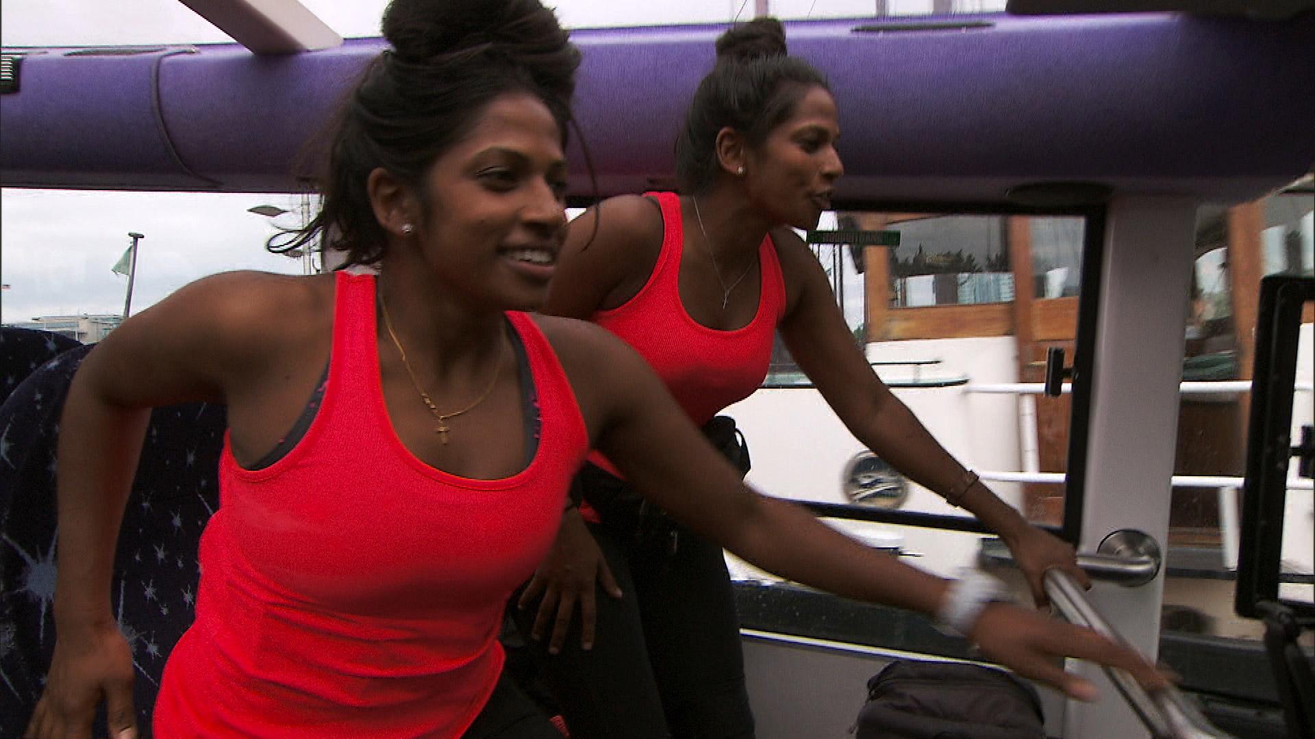 Natalie and Nadiya