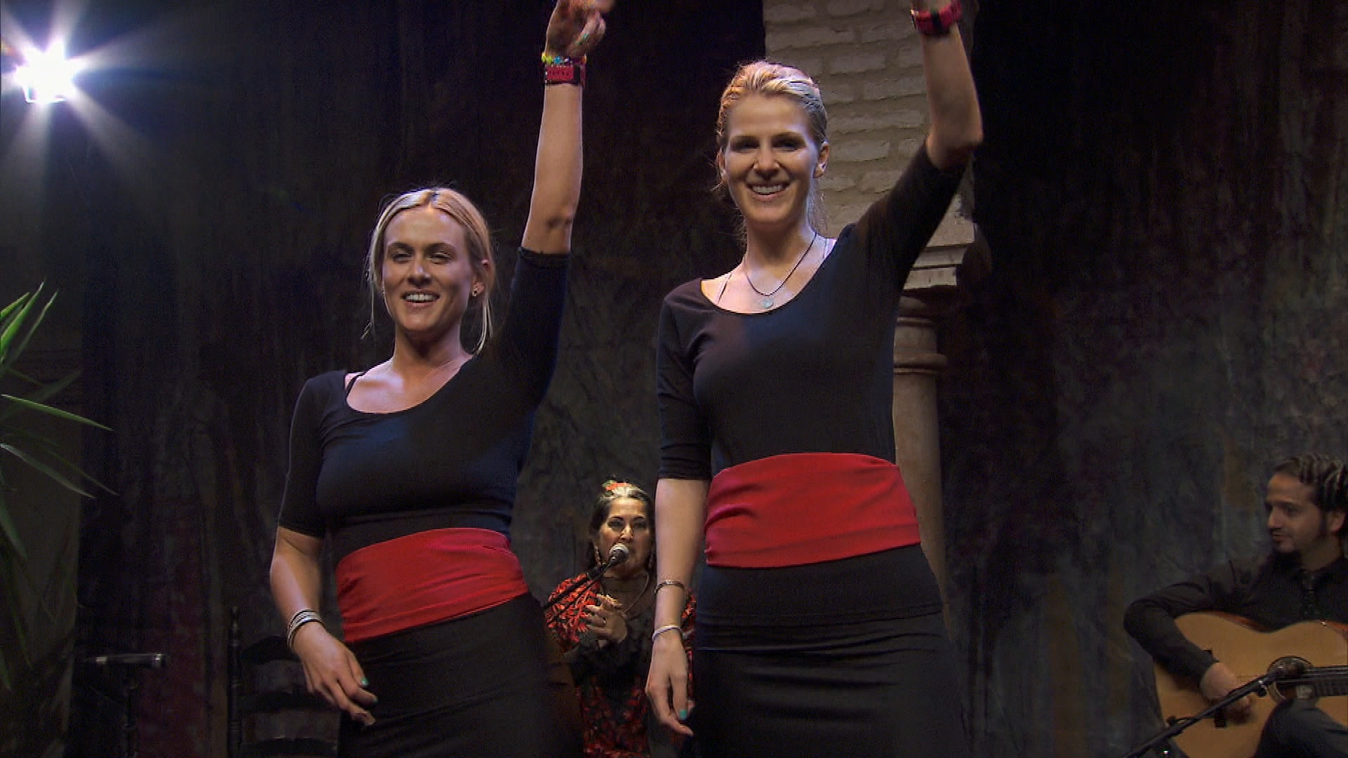 Performing a dance in Season 24 Episode 10
