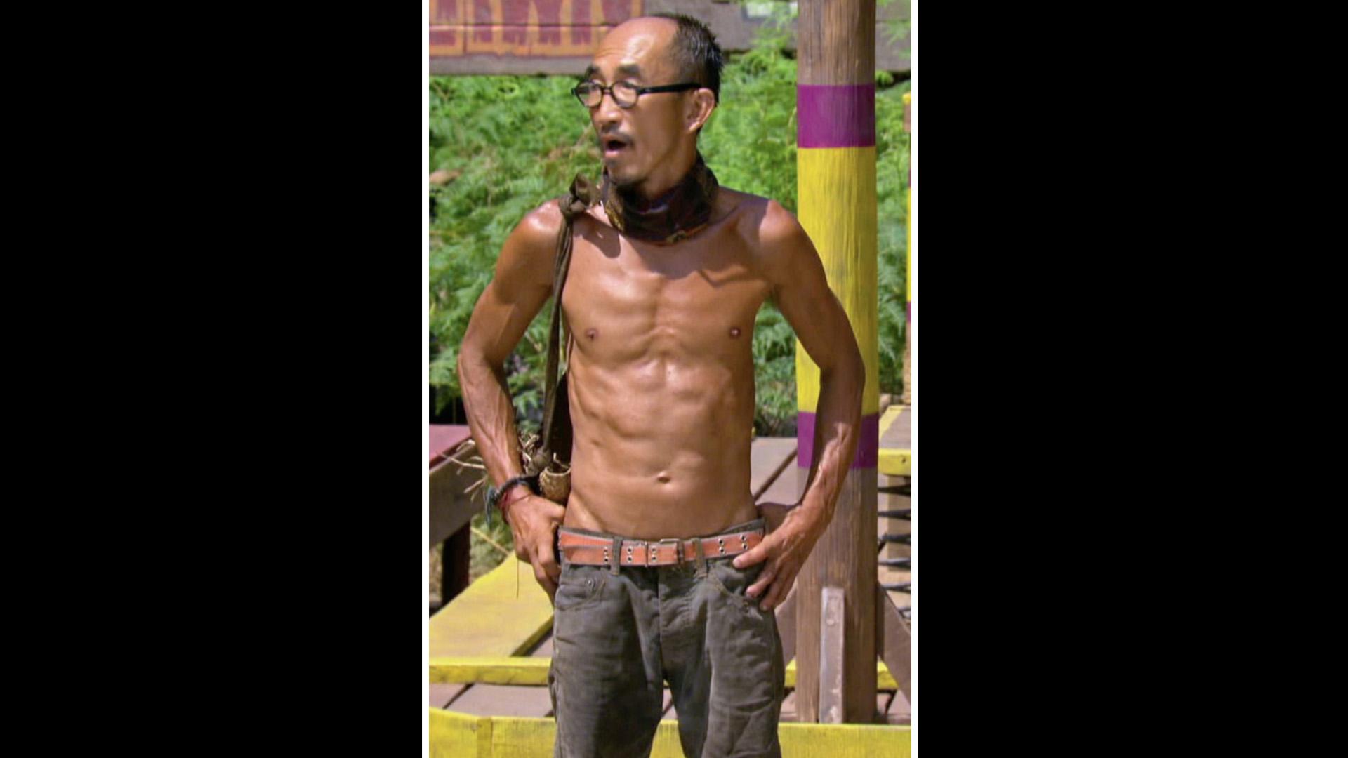 Unwashed castaway: Tai Trang