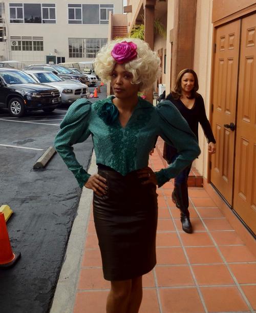 Aisha Tyler is Effie Trinket