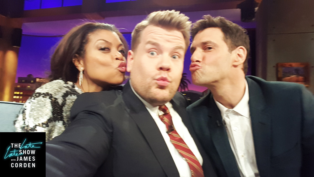 Taraji P. Henson and Justin Bartha