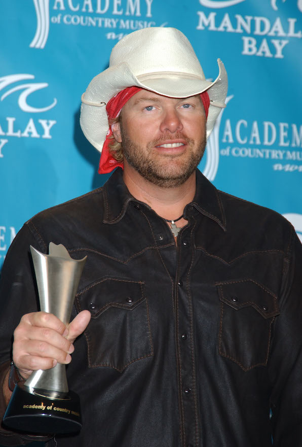 24. Toby Keith