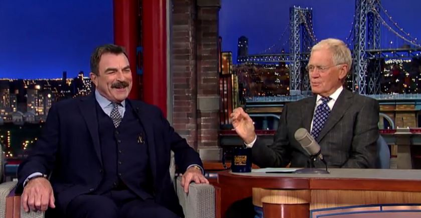 2. ...But Tom Selleck does hold grudges secretly  - - when he ran into someone he had a grudge against at a restaurant, he pretended he didn't have one.