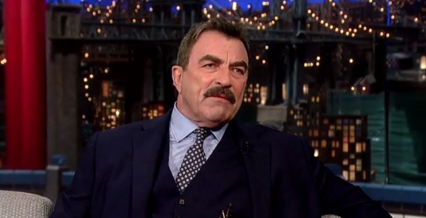 4. Tom Selleck is 6'4
