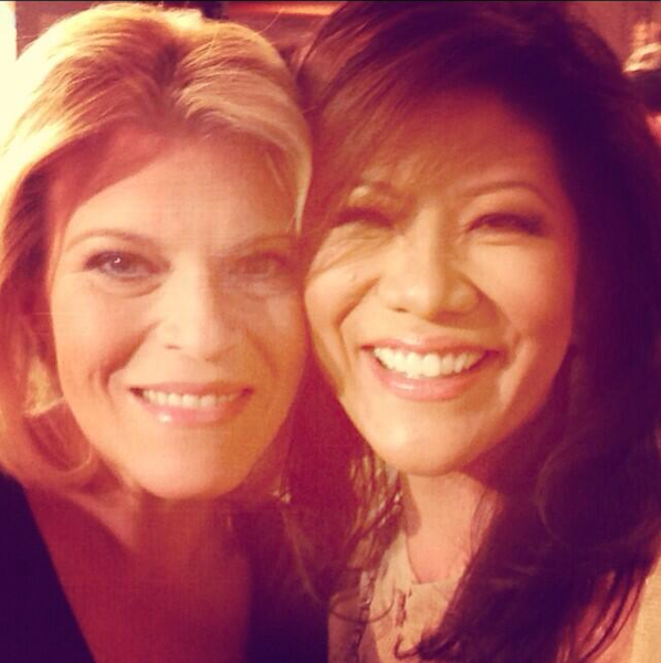 Tory Johnson and Julie Chen