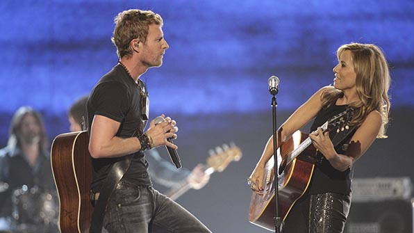 When Sheryl Crow rocked out with Dierks Bentley.