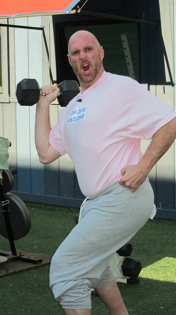 Adam Works Out