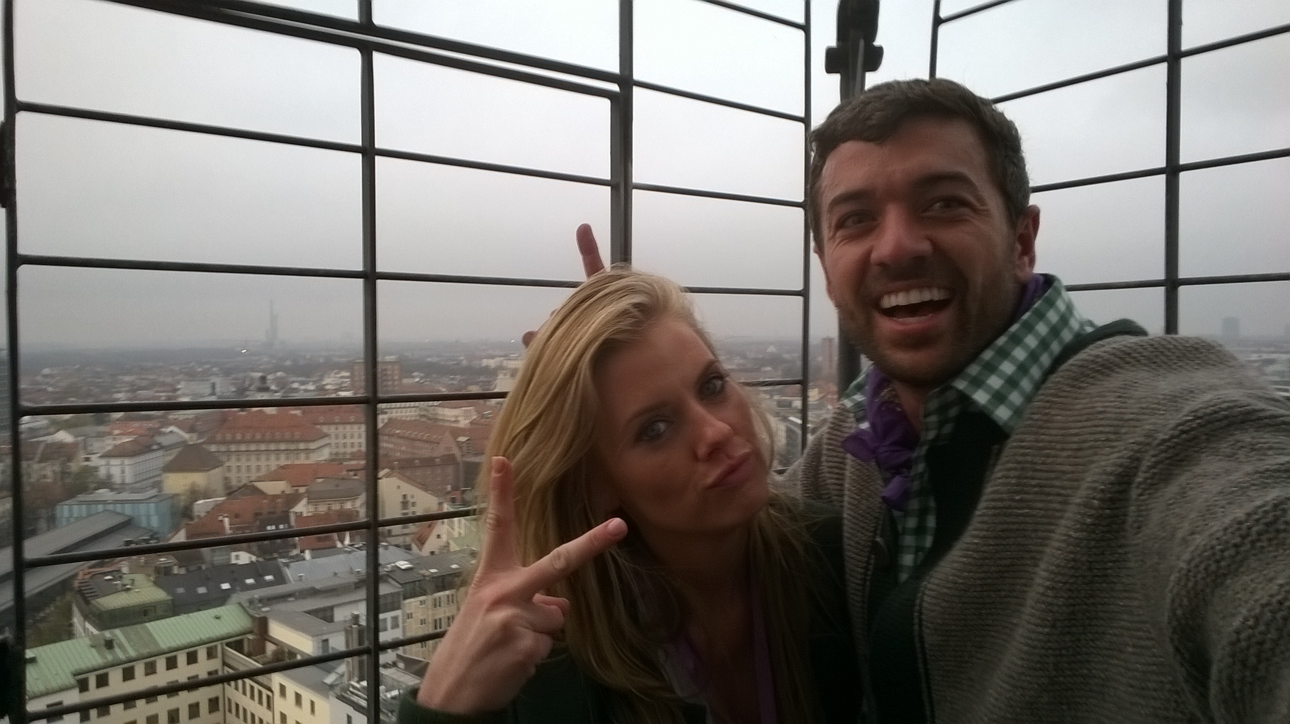 Tyler & Laura from such great heights