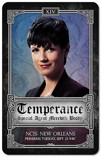 NCIS New Orleans Tarot Cards - Temperance