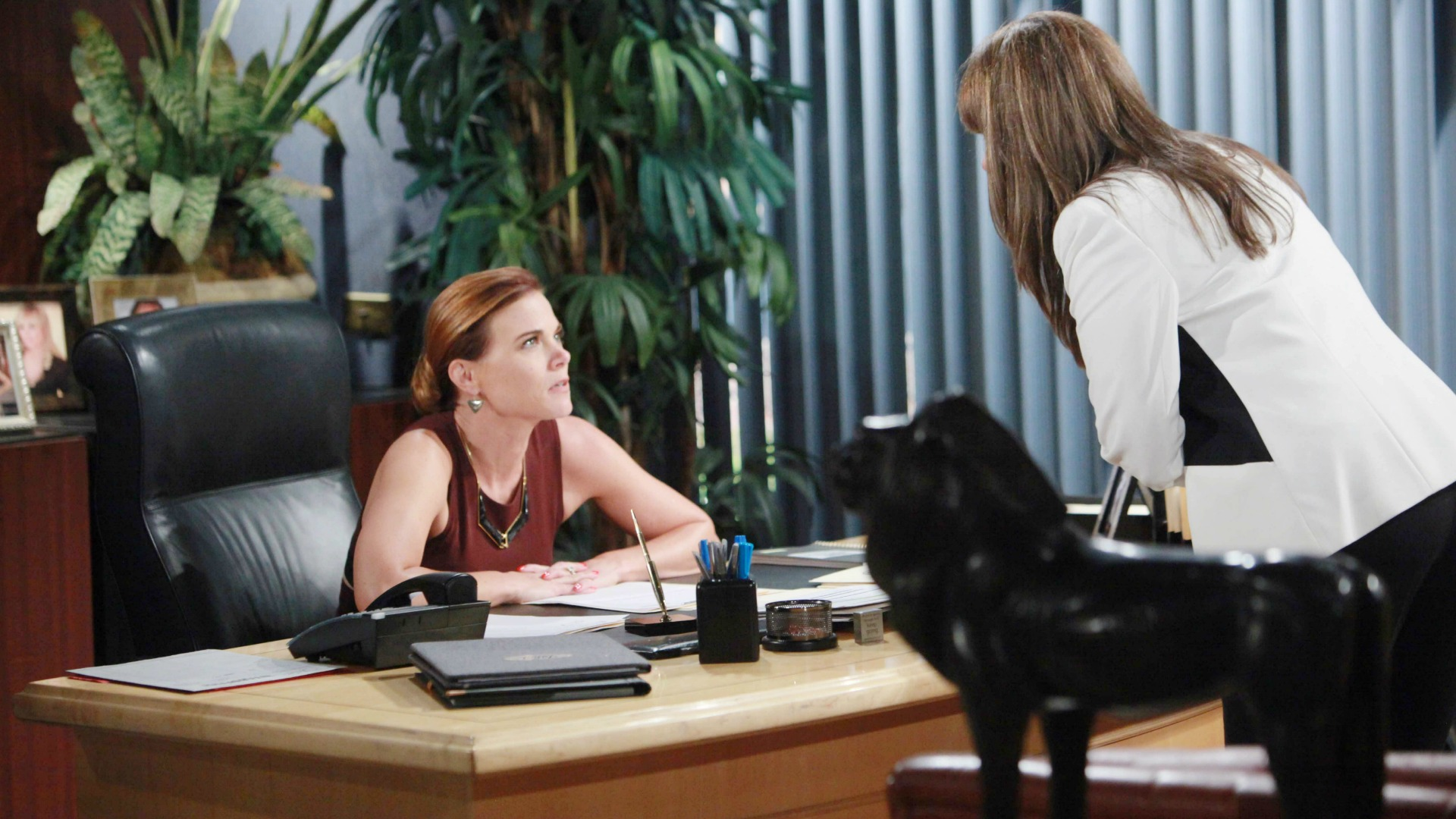 Jill learns about Billy and Phyllis' affair