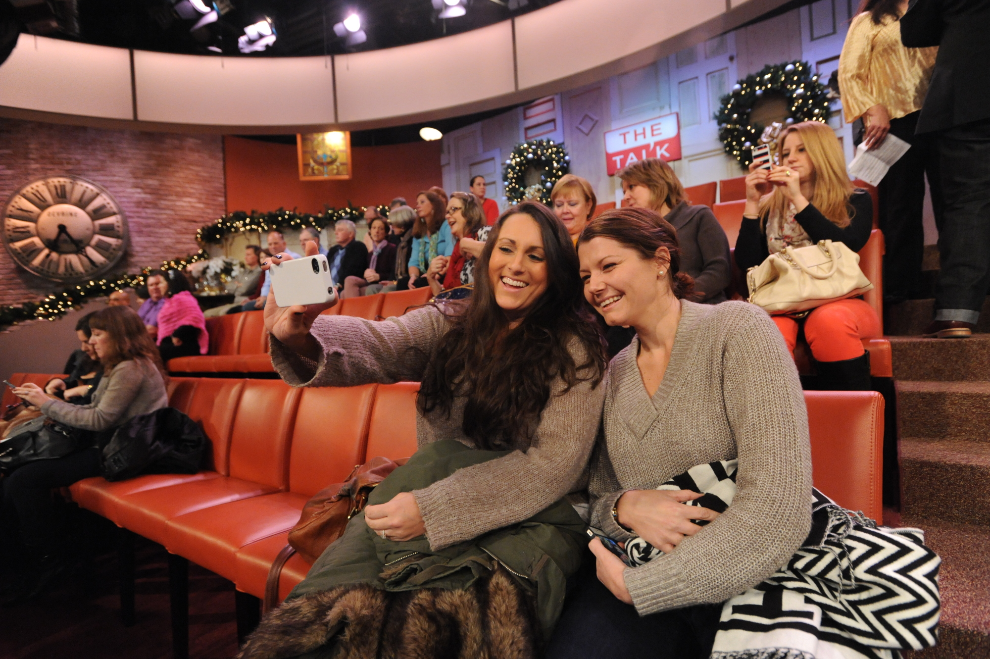 The Talk Audience Members