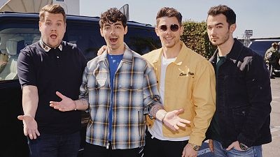 Jonas Brothers Reunite For A Full-Week Residency On Late Late Show