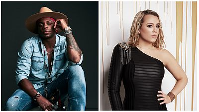 Jimmie Allen And Gabby Barrett Win The ACM Awards For New Male And New Female Artist Of The Year