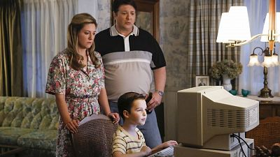 The Coopers Step Into The Information Age On Young Sheldon