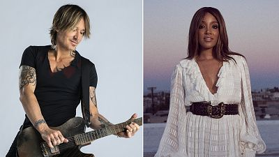 Keith Urban And Mickey Guyton To Host The 56th Academy Of Country Music Awards On Sunday, April 18