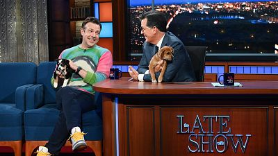 Jason Sudeikis Wants You To Adopt These Puppies